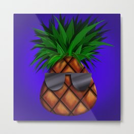 Another cool pineapple Metal Print