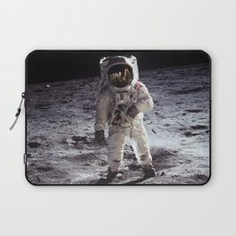 Apollo 11 - Iconic Buzz Aldrin On The Moon Laptop Sleeve