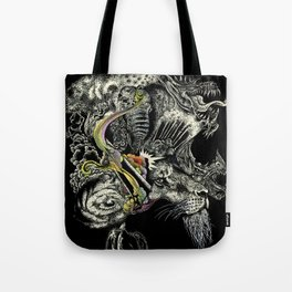 Darlings & Dragons from Matter to Fantasy Tote Bag