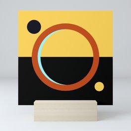 Flag of Mars Mini Art Print