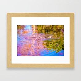 Psychedelic Tar Pit Framed Art Print