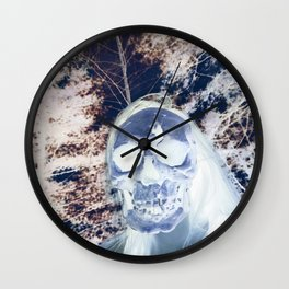 Neon Underworld Wall Clock