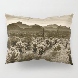 Teddy Bear Cactus Pillow Sham