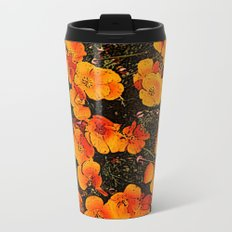 More Poppies Metal Travel Mug