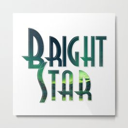 Bright Star Metal Print