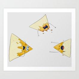 nachos 2 Art Print