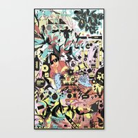 Double Double Def Canvas Print