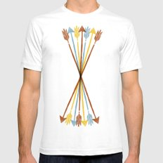 Everywhere Always Mens Fitted Tee SMALL White