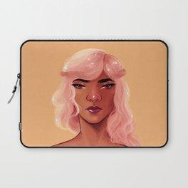 Pink Hair Laptop Sleeve