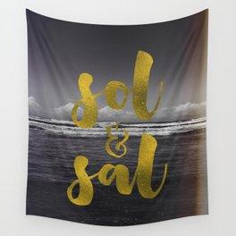 Sol & Sal Wall Tapestry