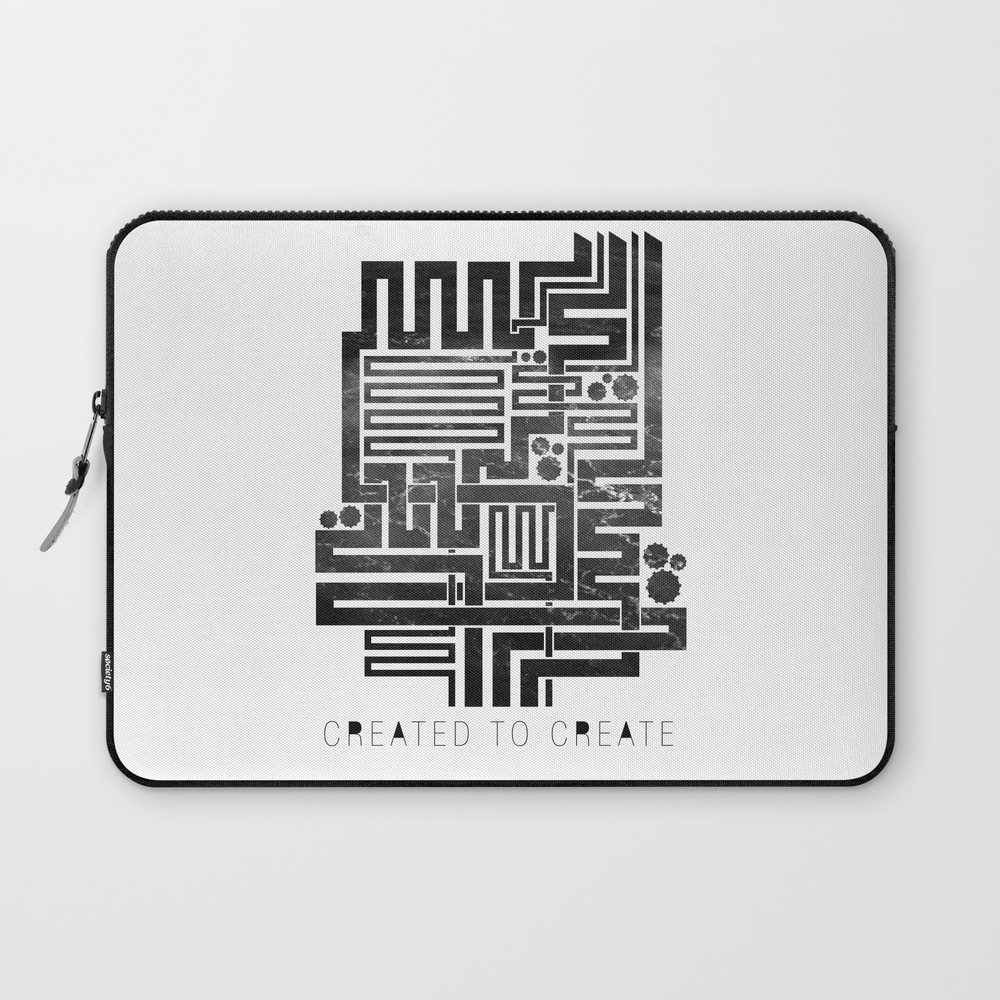 Vision City - Created To Create Laptop Sleeve LSV892620