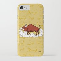 taurus iPhone & iPod Cases featuring Taurus by Giuseppe Lentini