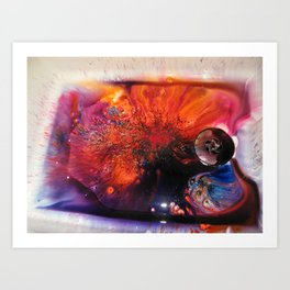 BRUSHO Art Print