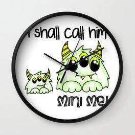 Spidey Mini Me Wall Clock