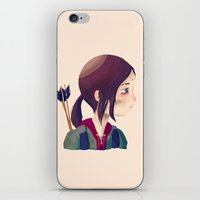 ellie goulding iPhone & iPod Skins featuring Ellie by Nan Lawson