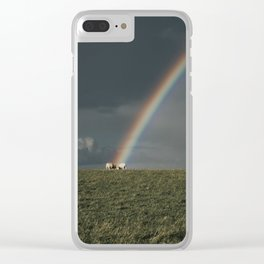 Rainbow II  - Landscape and Nature Photography Clear iPhone Case