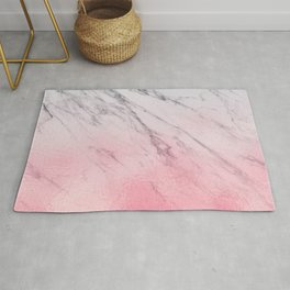 Cotton candy marble Rug