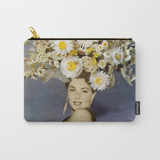 Floral Fashions Carry-All Pouch