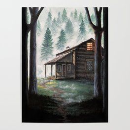 Cabin in the Pines Poster