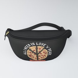 All I need is Peace and Love Fanny Pack