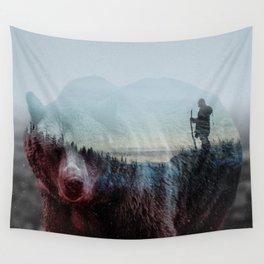 Ursus Arctos (Bear & Revenant) Wall Tapestry