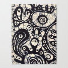 Abstract Batik 2 Canvas Print