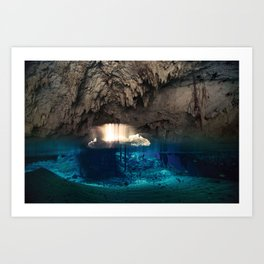 Cenote// Tulum Art Print