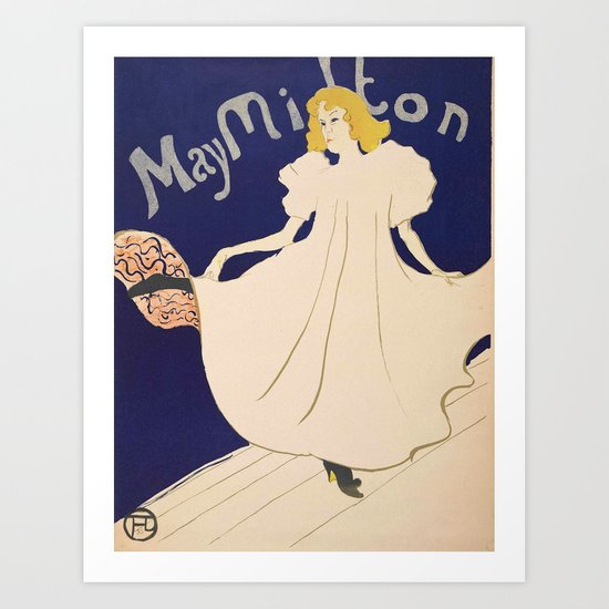 "Henri de Toulouse-Lautrec ""May Milton"" by alexandra_arts"