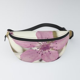 Pink blooming tree Fanny Pack
