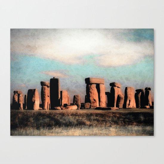 Mysterious Stonehenge Canvas Print