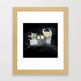 Juarez Owls Framed Art Print
