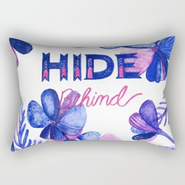 Hide Behind Rectangular Pillow
