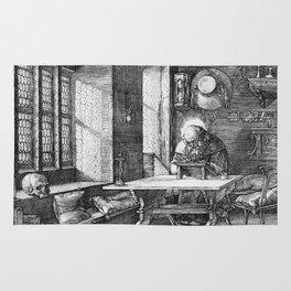 Saint Jerome in His Study by Albrecht Dürer Rug