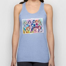 μ's (KiRa KiRa Sensation edit.) Unisex Tank Top