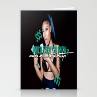 minaj Stationery Cards featuring Up All Night by Nicki Minaj Spain