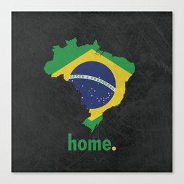 Brazil Proud Canvas Print