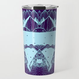 Some there out in the he space Travel Mug