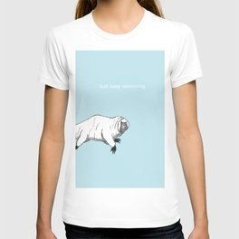 The majestic water bear T-shirt