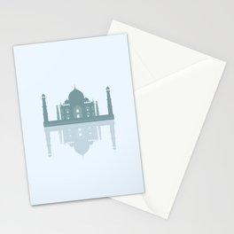 Taj Mahal - Minimalist Reflection -  Stationery Cards