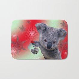 Christmas Koala Bath Mat