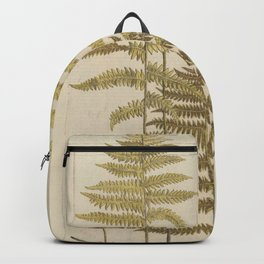 Vintage Fern Botanical Backpack