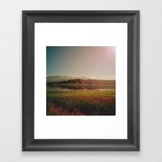 Lay of the Land Framed Art Print