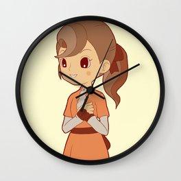 Flora Reinhold Wall Clock