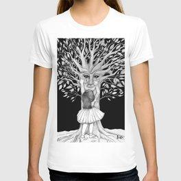 The sad night tree T-shirt