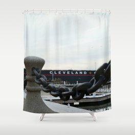 Cleveland Shipyard Shower Curtain