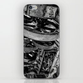 Novo Antique Gas Engine iPhone Skin