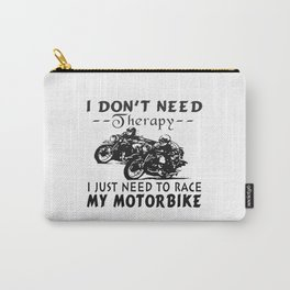 RACE MY MOTORBIKE Carry-All Pouch