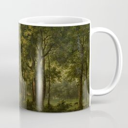 Classical Masteripiece 'A View of the South Front of Bower House, Havering-atte-Bower' by Abraham Pe Coffee Mug