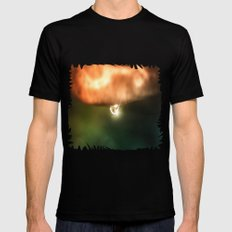 Just a drop of water in an endless sea Mens Fitted Tee Black MEDIUM