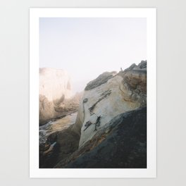 Morning Gold at Cape Kiwanda Art Print